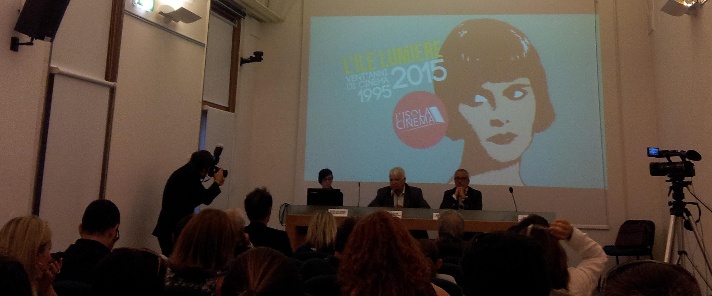 conferenza stampa isola del cinema